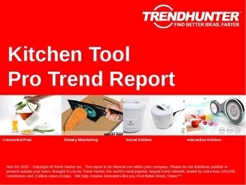 Kitchen Tool Trend Report and Kitchen Tool Market Research