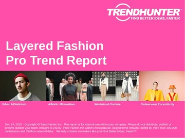 Layered Fashion Trend Report and Layered Fashion Market Research