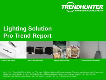 Lighting Solution Trend Report and Lighting Solution Market Research