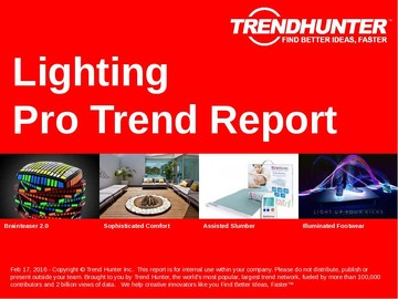 Lighting Trend Report and Lighting Market Research