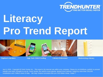 Literacy Trend Report and Literacy Market Research