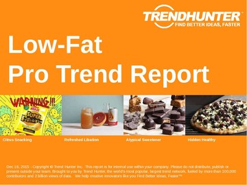 Low-Fat Trend Report and Low-Fat Market Research