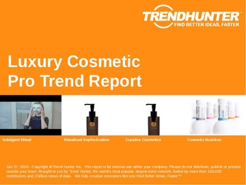 Luxury Cosmetic Trend Report and Luxury Cosmetic Market Research