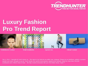 Luxury Fashion Trend Report and Luxury Fashion Market Research