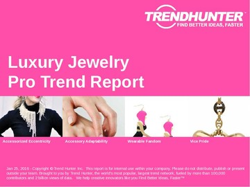 Luxury Jewelry Trend Report and Luxury Jewelry Market Research