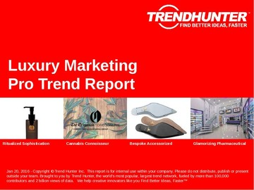 Luxury Marketing Trend Report and Luxury Marketing Market Research