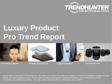 Luxury Product Trend Report and Luxury Product Market Research