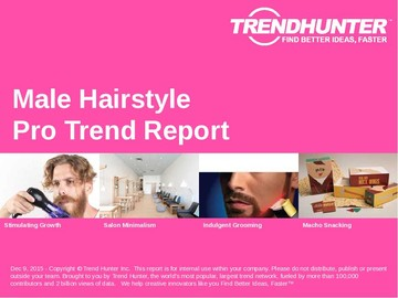 Male Hairstyle Trend Report and Male Hairstyle Market Research