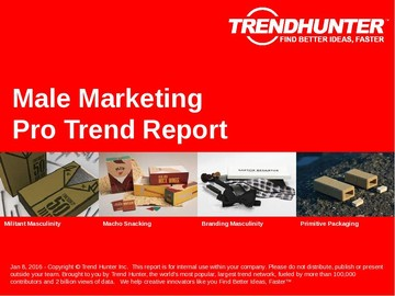 Male Marketing Trend Report and Male Marketing Market Research
