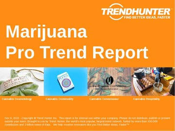Marijuana Trend Report and Marijuana Market Research