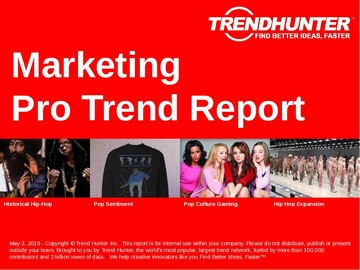 Marketing Trend Report and Marketing Market Research