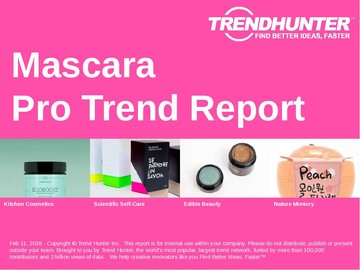 Mascara Trend Report and Mascara Market Research