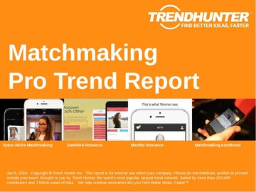 Matchmaking Trend Report and Matchmaking Market Research