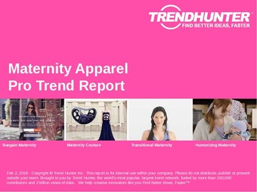 Maternity Apparel Trend Report and Maternity Apparel Market Research