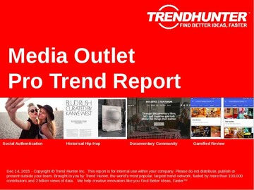 Media Outlet Trend Report and Media Outlet Market Research