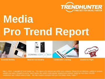 Media Trend Report and Media Market Research