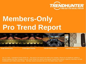 Members-Only Trend Report and Members-Only Market Research