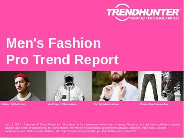 Mens Fashion Trend Report and Mens Fashion Market Research