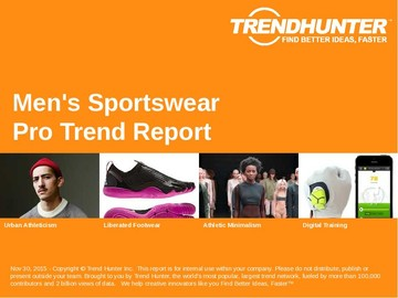 Men's Sportswear Trend Report and Men's Sportswear Market Research