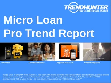 Micro Loan Trend Report and Micro Loan Market Research