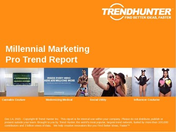 Millennial Marketing Trend Report and Millennial Marketing Market Research