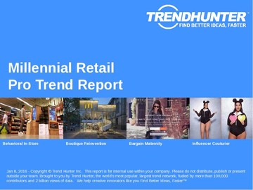 Millennial Retail Trend Report and Millennial Retail Market Research