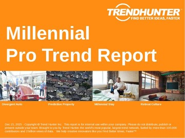 Millennial Trend Report and Millennial Market Research
