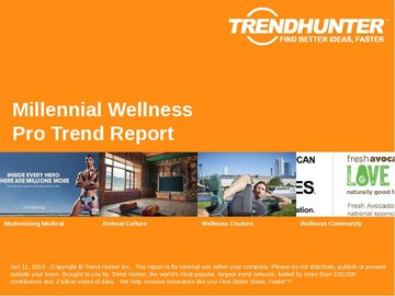 Millennial Wellness Trend Report and Millennial Wellness Market Research