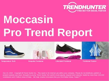 Moccasin Trend Report and Moccasin Market Research