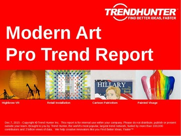 Modern Art Trend Report and Modern Art Market Research