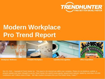Modern Workplace Trend Report and Modern Workplace Market Research