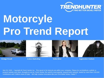 Motorcyle Trend Report and Motorcyle Market Research