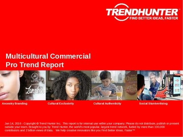 Multicultural Commercial Trend Report and Multicultural Commercial Market Research