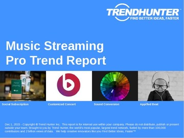 Music Streaming Trend Report and Music Streaming Market Research
