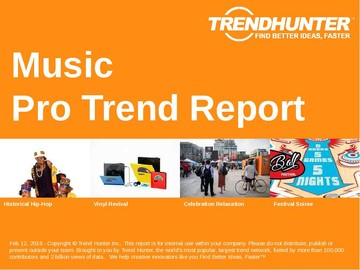 Music Trend Report and Music Market Research