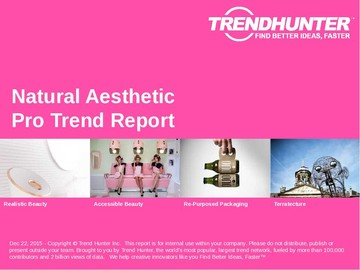 Natural Aesthetic Trend Report and Natural Aesthetic Market Research