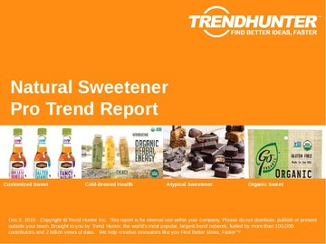 Natural Sweetener Trend Report and Natural Sweetener Market Research