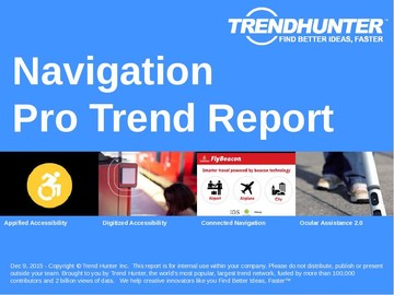 Navigation Trend Report and Navigation Market Research