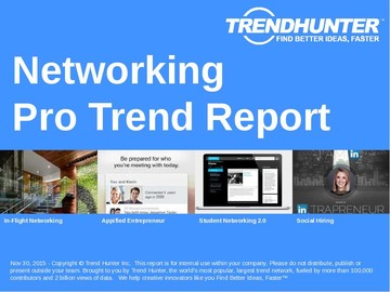 Networking Trend Report and Networking Market Research