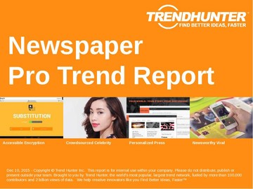 Newspaper Trend Report and Newspaper Market Research