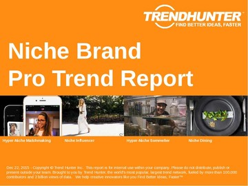 Niche Brand Trend Report and Niche Brand Market Research