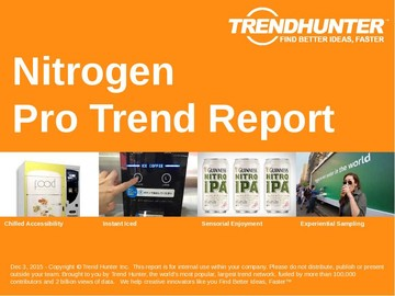 Nitrogen Trend Report and Nitrogen Market Research