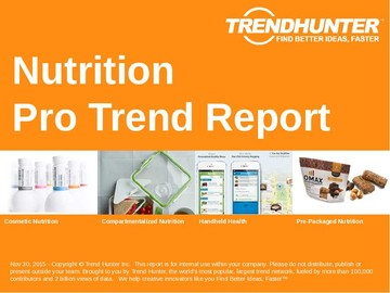 Nutrition Trend Report and Nutrition Market Research