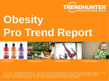 Obesity Trend Report and Obesity Market Research
