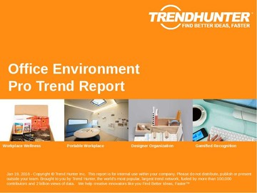 Office Environment Trend Report and Office Environment Market Research