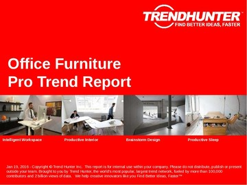 Office Furniture Trend Report and Office Furniture Market Research