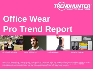 Office Wear Trend Report and Office Wear Market Research