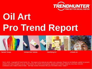 Oil Art Trend Report and Oil Art Market Research