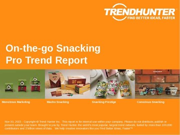 On-the-go Snacking Trend Report and On-the-go Snacking Market Research