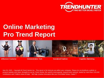 Online Marketing Trend Report and Online Marketing Market Research